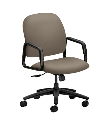 HON Solutions Seating High-Back Chair | Center-Tilt | Fixed Arms | Antelope Fabric