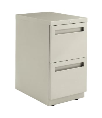 "HON Flagship Freestanding Support Pedestal | 2 File Drawers | Integral Pull | 15""W 
