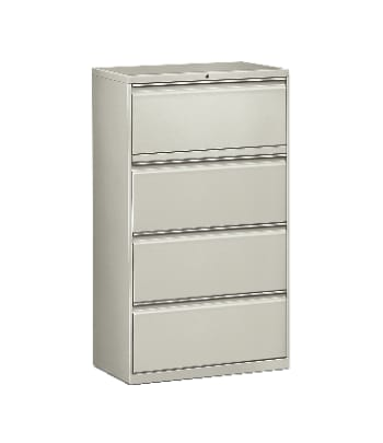 "HON Flagship Lateral File | 4 Drawers | 30""W 