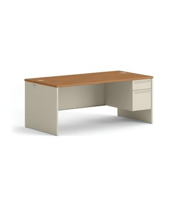 38000 Series Right Pedestal Desk