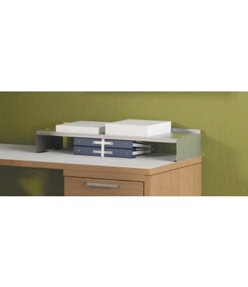 "HON Desktop Paper Shelf | 28-1/16""W | Platinum Metallic Finish"