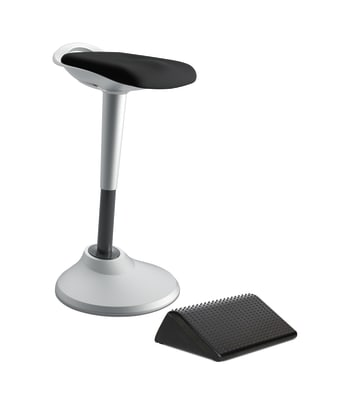 HON Perch with Footrest | Black
