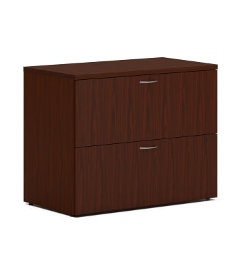 "HON Mod Lateral File | 2 Drawers | Removable Top | 36""W 