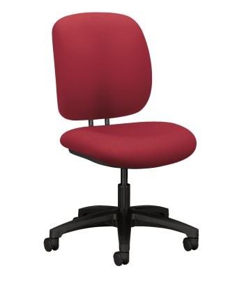 HON ComforTask Chair | Seat Depth | Marsala Fabric