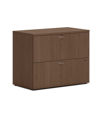 "HON Mod Lateral File | 2 Drawers | Removable Top | 36""W"