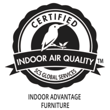 Certified Indoor Air Quality Indoor Advantage Furniture