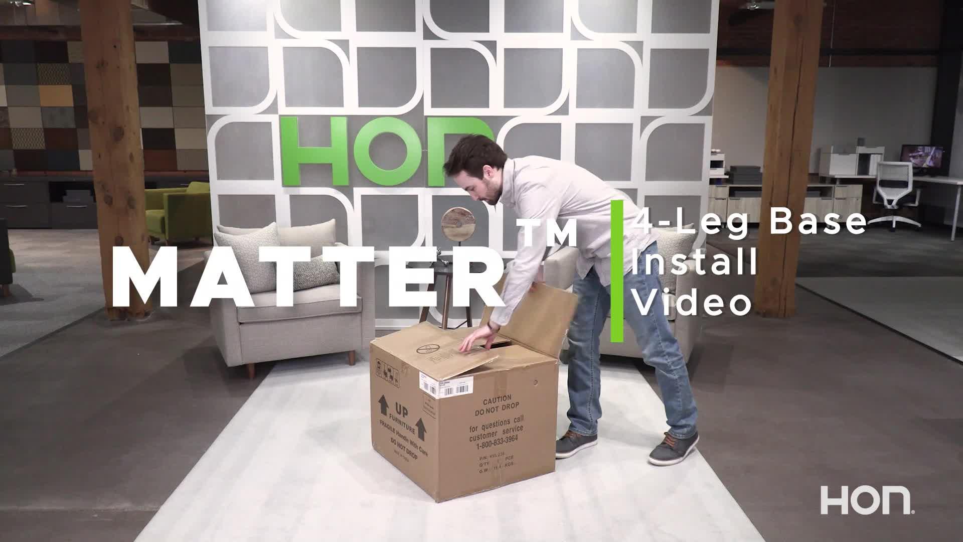 Matter 4 Leg Base Installation video link