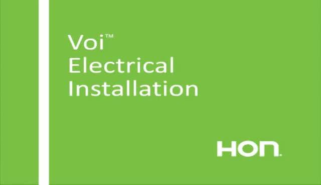 Voi Installation - Electrical video link