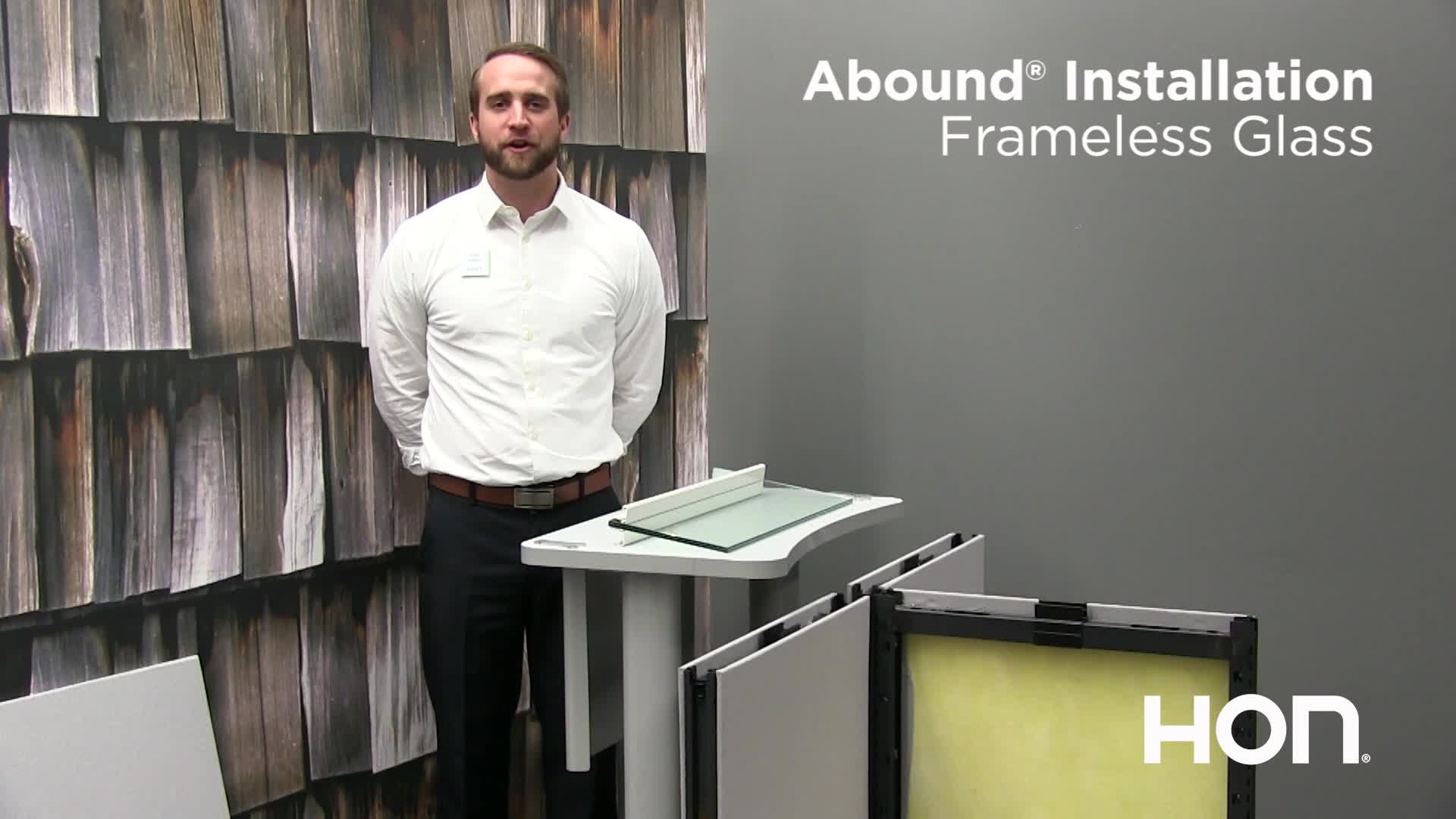 Abound Tips and Tricks - Installation Frameless Glass video link