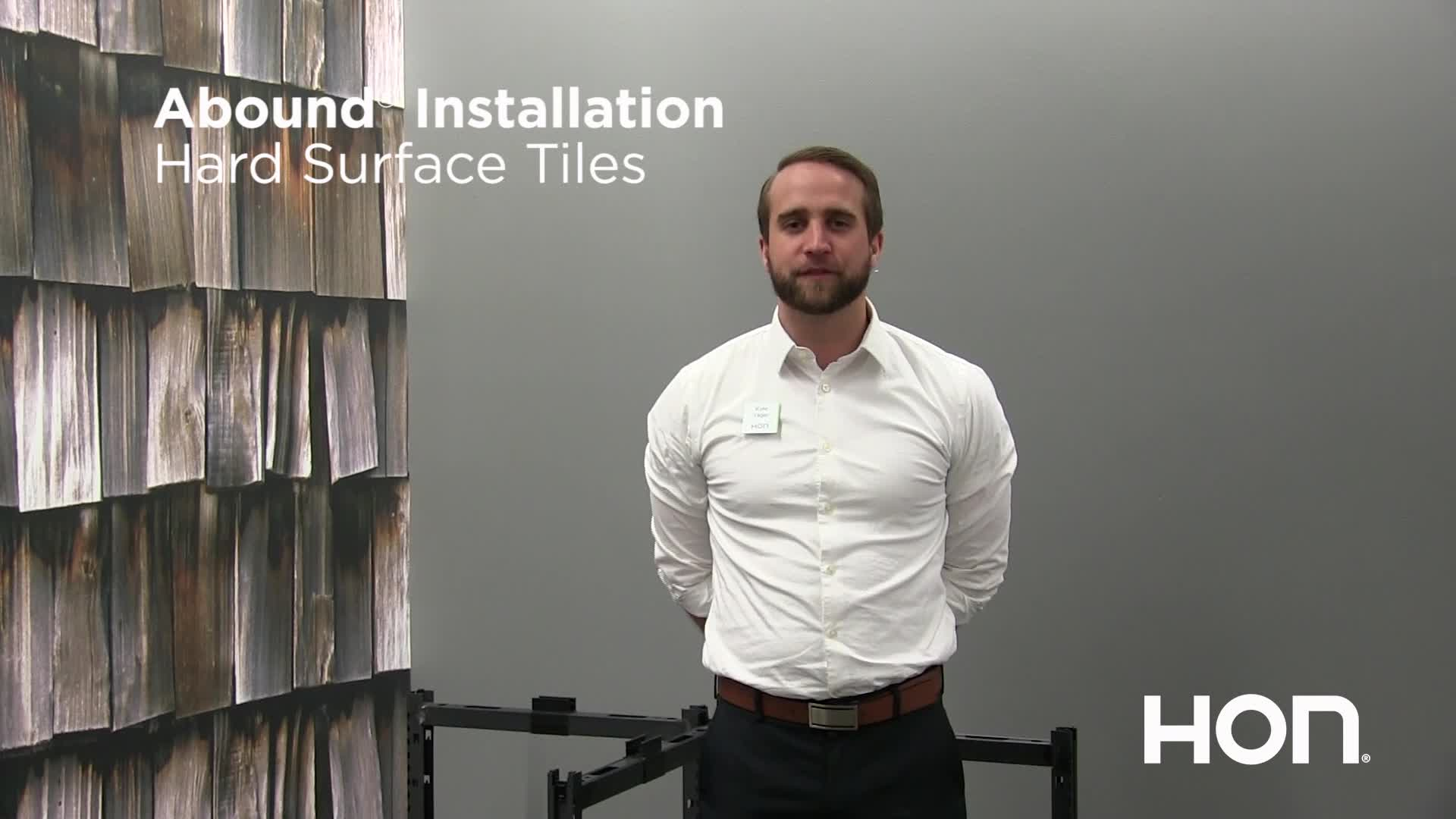 Abound Tips and Tricks - Installation Hard Surface Tiles video link