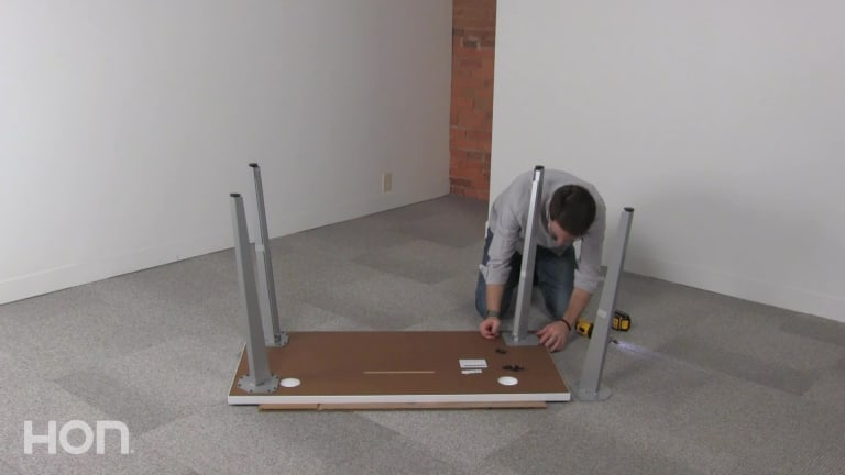 Voi Angled Legs Installation video link