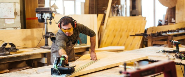 Woodworkers set up and operate all types of woodworking machines, such as drill presses, lathes, shapers, routers, sanders, planers, and wood-nailing machines.