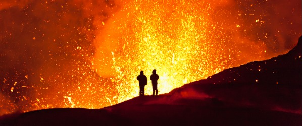 A Volcanologist studies volcanoes to understand the movement and formation of molten rock under the earth's surface.