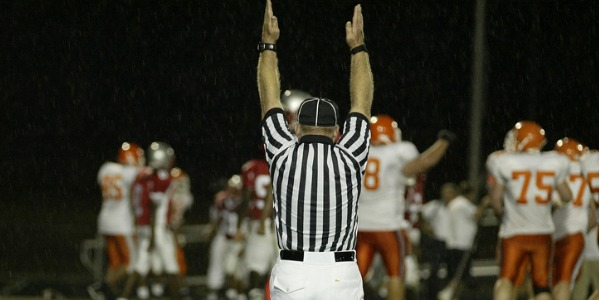 A sports referee presides over competitive athletic or sporting events, detecting infractions and deciding penalties according to the rules of the game.