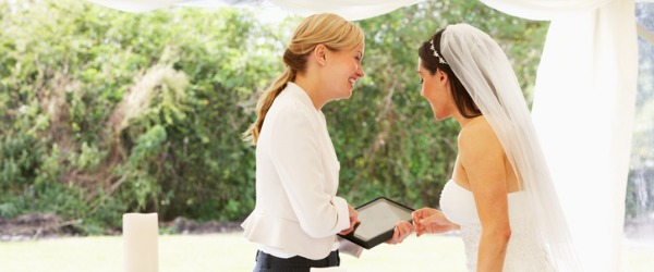A Wedding Planner helps with the planning, organization and management of a wedding.