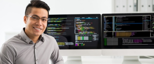 A software engineer is engaged in computer software development, and applies engineering principles to software creation.