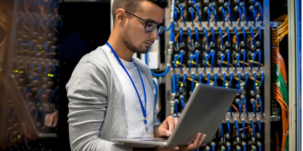 A server administrator is someone who is in charge of a company's computer servers and makes sure that everything runs smoothly.