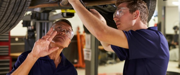 A recreational vehicle service technician is someone who inspects, services, and repairs motorized power equipment for recreational vehicles.