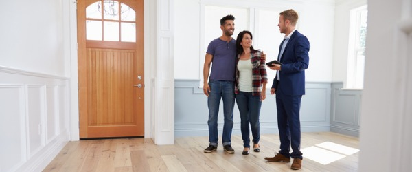 A real estate agent is someone who helps people to either buy or sell a home or a piece of property.
