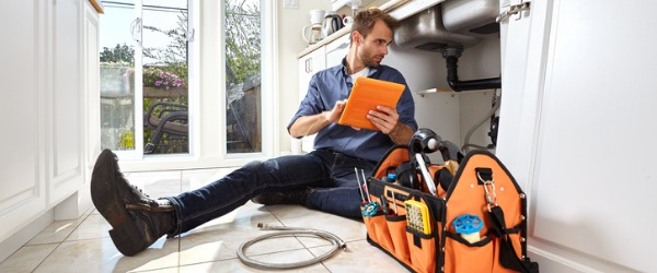 A plumber is someone who installs and maintains pipes in our homes and businesses.