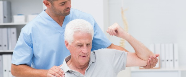 A physiotherapist helps patients achieve maximum range of movement and physical ability, either by developing it in the first place or restoring it after loss of physical ability due to illness, injury or aging.
