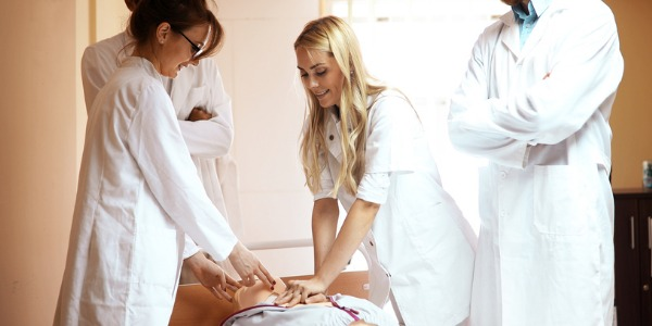 A nurse educator is a registered nurse with advanced training that educates and trains future nurses.