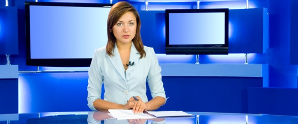 News anchors inform the public by reporting news stories and events happening on a local, national, and international level.