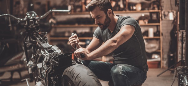 A motorcycle mechanic is a small engine mechanic who specializes in maintaining and repairing traditional and nontraditional motorcycles, scooters, dirt bikes, and mopeds.