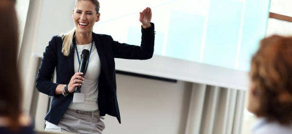 A motivational speaker, also known as an inspirational speaker, is someone who delivers speeches with the intention of motivating or inspiring the people in the audience.