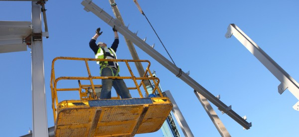 Structural iron and steel workers install iron or steel beams, girders, and columns to form buildings, bridges, and other structures.