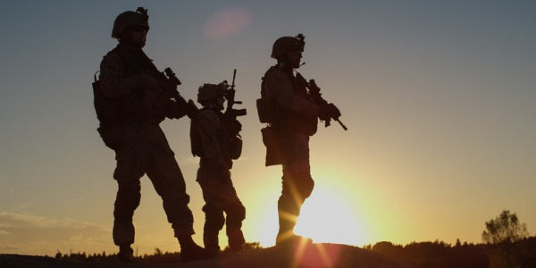 An infantry soldier is trained in combat skills and arms within an armed service, and forms the backbone of any modern military capability.