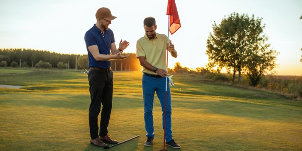 Golf pros fall into any of three main professions: touring professional, club professional and instructor.