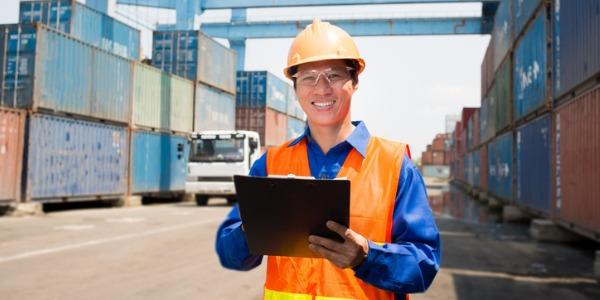 A freight and cargo inspector inspects, manages and documents freight shipments and verifies that the contents are in compliance with local, national and international regulations.