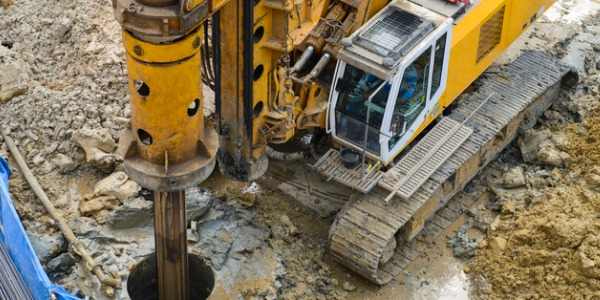 Extraction workers often work with heavy, dangerous drilling equipment such as gigantic drills and boring tools.