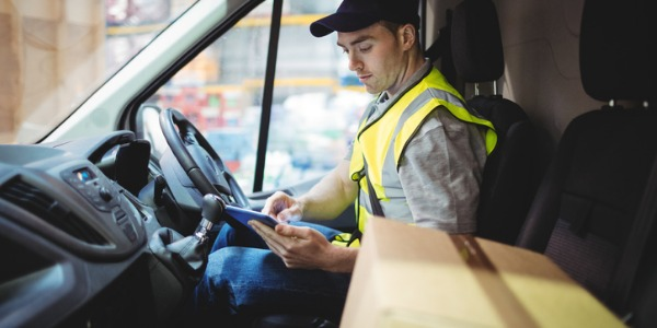 A courier transports documents and packages for individuals, businesses, institutions, and government agencies.