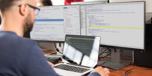 A computer programmer works out the process of designing, writing, testing, debugging/troubleshooting and maintaining the source code of computer programs.