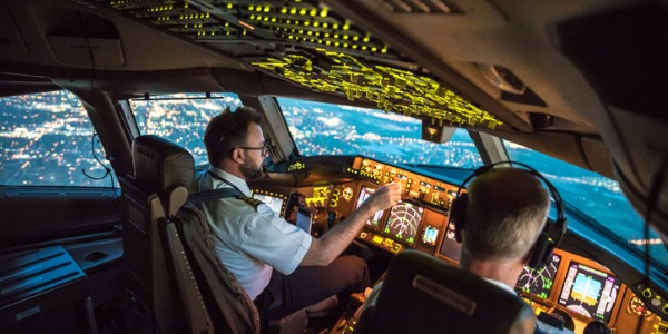 Commercial pilots plan their flights carefully, check various systems on the aircraft, make sure that baggage and cargo have been loaded correctly, confer with air traffic controllers to learn about weather conditions, and confirm flight routes.