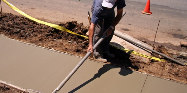Cement masons pour, smooth, and finish concrete floors, sidewalks, roads, and curbs.