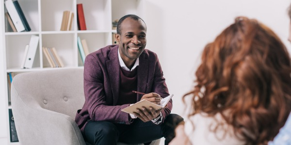 A career counselor is trained to aid people with their career choice.