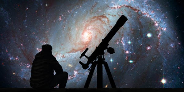An astronomer focuses primarily on the study of space, which includes the stars, the planets and the galaxies above us.
