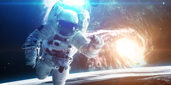 An astronaut is trained to pilot and/or travel in a spacecraft, work in space, and do activities related to human space exploration.