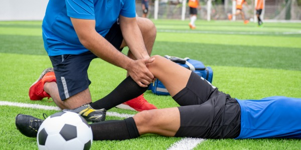 Athletic trainers are usually one of the first healthcare providers on the scene when injuries occur.