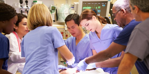 An acute care nurse practitioner (ACNP) provides advanced nursing care to patients suffering brief but severe illnesses, typically in an emergency department, ambulatory care clinic or other short term stay facility.