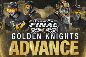 Die Vegas Golden Knights gewinnen Spiel 5 und stehen im Stanley Cup Finale!