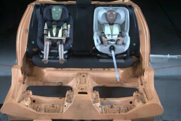 Erster Kindersitz mit Airbags getestet