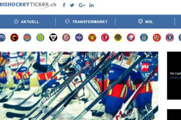 eishockeyticker.ch - Die Webseite für Hockeyfans