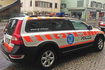 Glarus GL - Verkehrsunfall beim Bahnhof