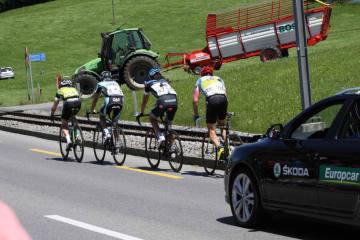 Kanton AI - Verkehrsbehinderungen anlässlich der Tour de Suisse