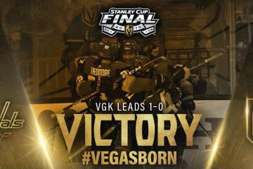 Die Vegas Golden Knights gewinnen Spiel 1 im Stanley Cup Finale!