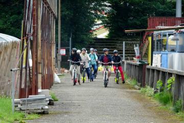 Biel mit den Hugo Bikes entdecken